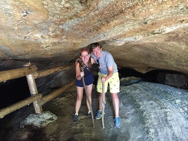 Two People in a Cave - How to Joyfully Travel with a Chronic Illness